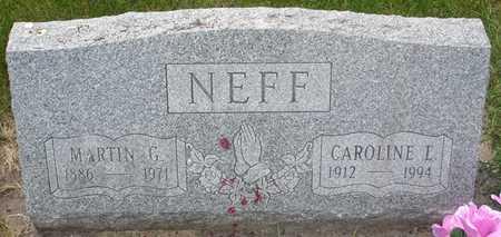 NEFF, MARTIN G. - Clinton County, Iowa | MARTIN G. NEFF