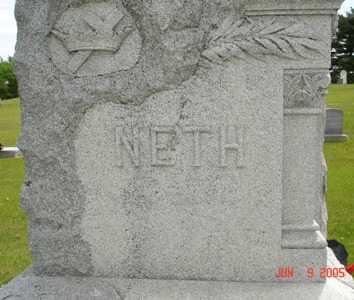 NETH, FAMILY - Clinton County, Iowa | FAMILY NETH