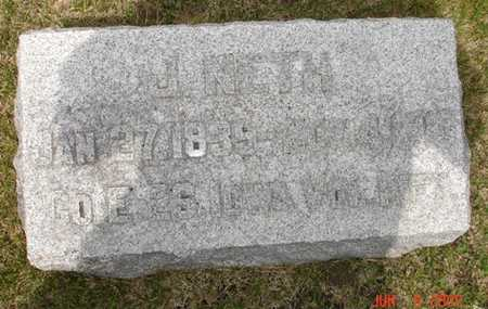 NETH, J. - Clinton County, Iowa | J. NETH