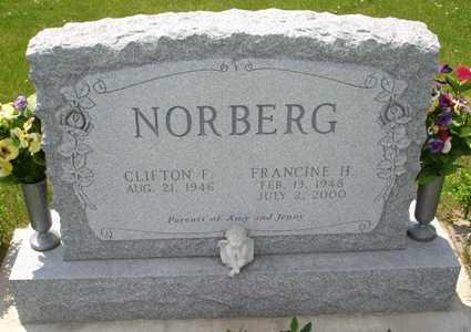 NORBERG, FRANCINE H. - Clinton County, Iowa | FRANCINE H. NORBERG