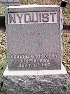 NYQUIST, EUGENE G - Clinton County, Iowa | EUGENE G NYQUIST