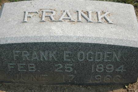OGDEN, FRANK E. - Clinton County, Iowa | FRANK E. OGDEN