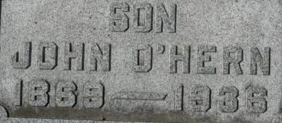 O'HERN, JOHN - Clinton County, Iowa | JOHN O'HERN