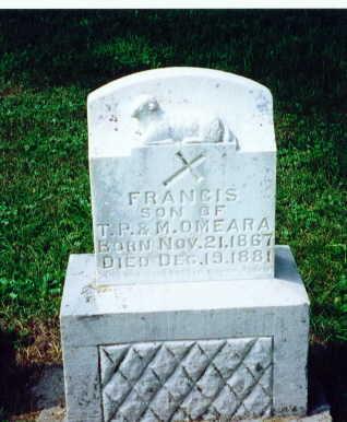 O'MEARA, FRANCIS - Clinton County, Iowa | FRANCIS O'MEARA