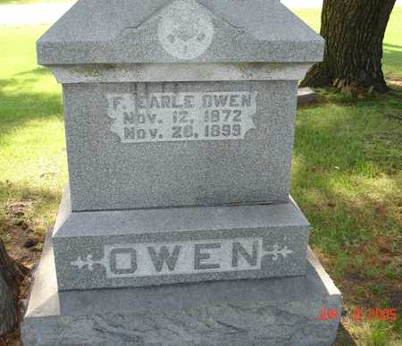 OWEN, F. EARLE - Clinton County, Iowa | F. EARLE OWEN