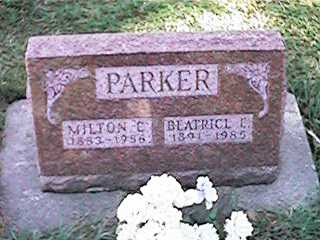 PARKER, BEATRICE E - Clinton County, Iowa | BEATRICE E PARKER