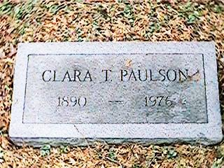 PAULSON, CLARA T. - Clinton County, Iowa | CLARA T. PAULSON