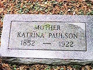 PAULSON, KATRINA - Clinton County, Iowa | KATRINA PAULSON