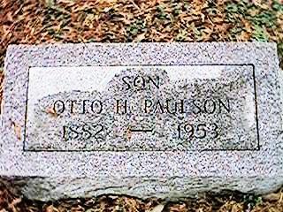 PAULSON, OTTO H. - Clinton County, Iowa | OTTO H. PAULSON