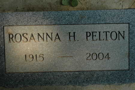 PELTON, ROSANNA H. - Clinton County, Iowa | ROSANNA H. PELTON