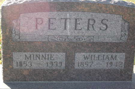 PETERS, MINNIE - Clinton County, Iowa | MINNIE PETERS