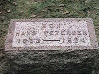 PETERSEN, HANS - Clinton County, Iowa | HANS PETERSEN