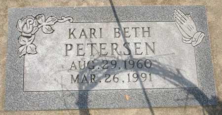 PETERSEN, KARI BETH - Clinton County, Iowa | KARI BETH PETERSEN