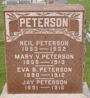 PETERSON, EVA - Clinton County, Iowa | EVA PETERSON