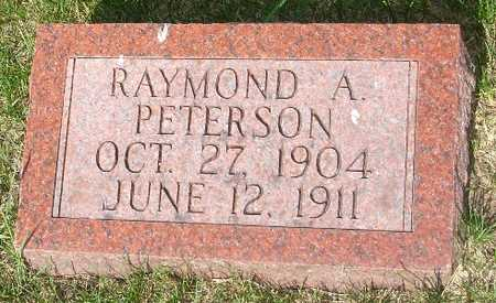 PETERSON, RAYMOND A. - Clinton County, Iowa | RAYMOND A. PETERSON