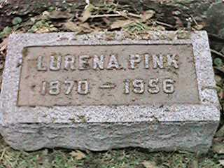 PINK, LURENA - Clinton County, Iowa   LURENA PINK