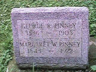 PINNEY, MARGARET W - Clinton County, Iowa | MARGARET W PINNEY