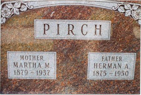POTRATZ PIRCH, MARTHA M. - Clinton County, Iowa | MARTHA M. POTRATZ PIRCH