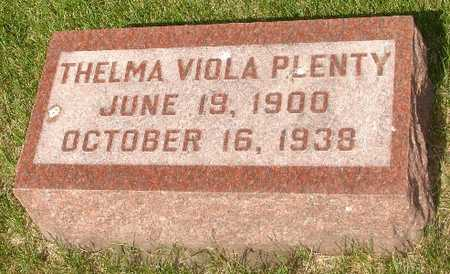 PLENTY, THELMA VIOLA - Clinton County, Iowa | THELMA VIOLA PLENTY