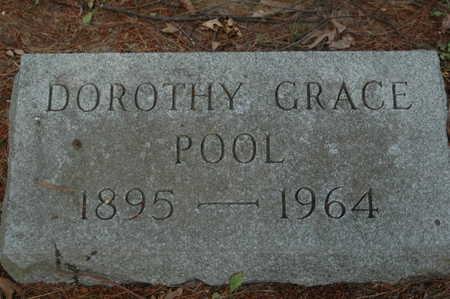 POOL, DOROTHY GRACE - Clinton County, Iowa | DOROTHY GRACE POOL