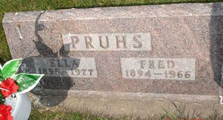 PRUHS, FRED - Clinton County, Iowa | FRED PRUHS