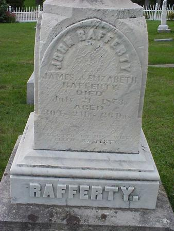 RAFFERTY, ELIZABETH M. - Clinton County, Iowa | ELIZABETH M. RAFFERTY