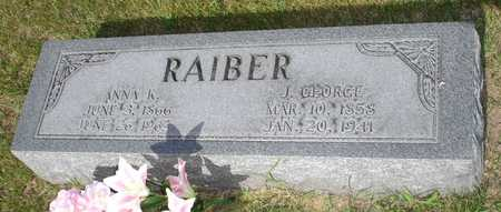 RAIBER, J. GEORGE - Clinton County, Iowa | J. GEORGE RAIBER