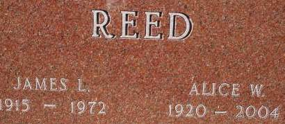 REED, JAMES L. - Clinton County, Iowa | JAMES L. REED
