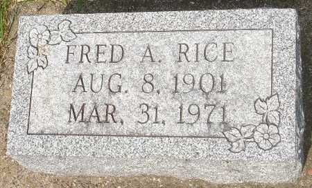 RICE, FRED A. - Clinton County, Iowa | FRED A. RICE