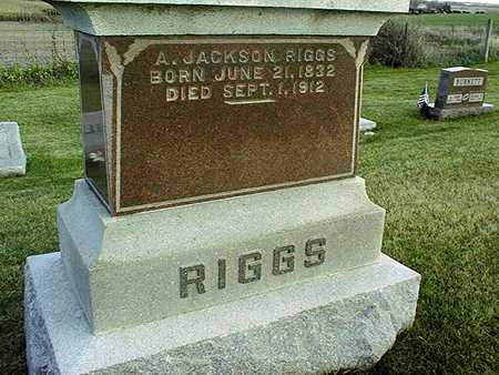 RIGGS, A.JACKSON - Clinton County, Iowa | A.JACKSON RIGGS