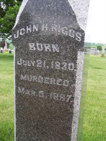 RIGGS, JOHN H. - Clinton County, Iowa | JOHN H. RIGGS