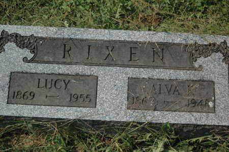 RIXEN, ALVA F. - Clinton County, Iowa | ALVA F. RIXEN