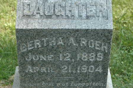 ROEH, BERTHA A. - Clinton County, Iowa | BERTHA A. ROEH