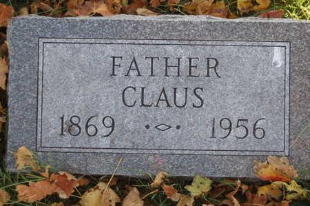 ROEH, CLAUS - Clinton County, Iowa   CLAUS ROEH