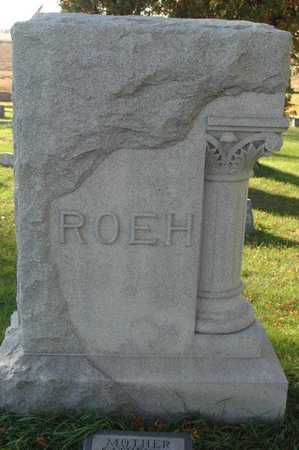 ROEH, FAMILY MONUMENT - Clinton County, Iowa | FAMILY MONUMENT ROEH