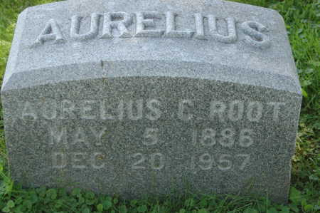 ROOT, AURELIUS C. - Clinton County, Iowa | AURELIUS C. ROOT