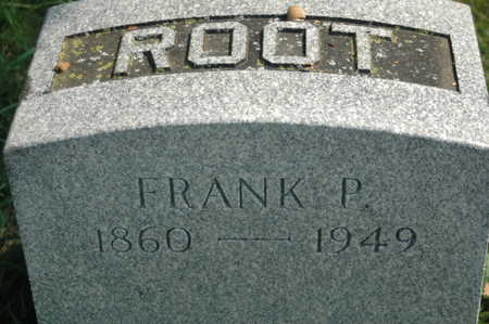 ROOT, FRANK P. - Clinton County, Iowa | FRANK P. ROOT