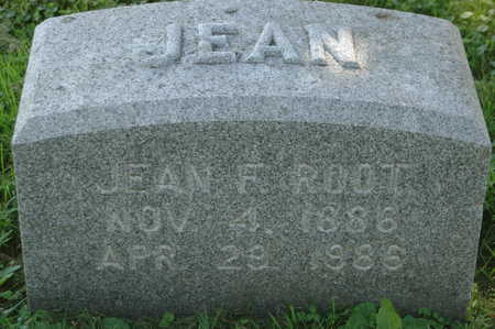 ROOT, JEAN F. - Clinton County, Iowa | JEAN F. ROOT