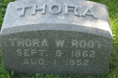 ROOT, THORA W. - Clinton County, Iowa | THORA W. ROOT
