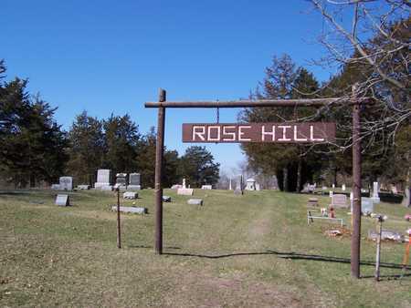 ROSE HILL (TORONTO), CEMETERY - Clinton County, Iowa | CEMETERY ROSE HILL (TORONTO)