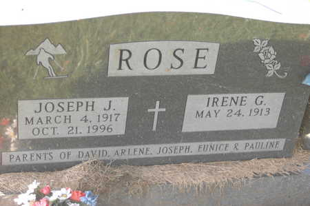 ROSE, IRENE G. - Clinton County, Iowa | IRENE G. ROSE