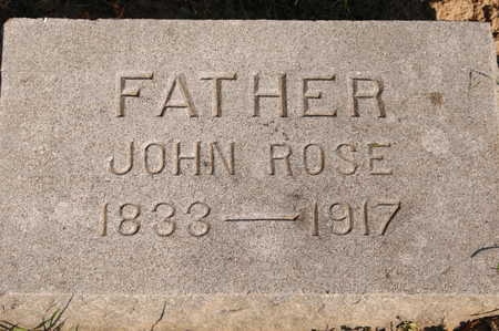 ROSE, JOHN - Clinton County, Iowa | JOHN ROSE