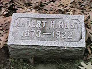 RUST, ALBERT H - Clinton County, Iowa | ALBERT H RUST