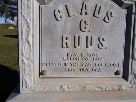 RUUS, CLAUS C. - Clinton County, Iowa | CLAUS C. RUUS