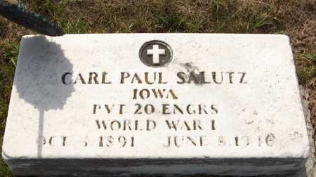SALUTZ, CARL PAUL - Clinton County, Iowa | CARL PAUL SALUTZ