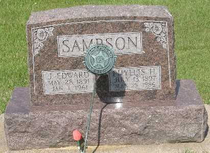 SAMPSON, PHYLLIS H. - Clinton County, Iowa | PHYLLIS H. SAMPSON