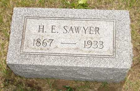 SAWYER, H. E. - Clinton County, Iowa | H. E. SAWYER