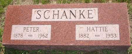 SCHANKE, HATTIE - Clinton County, Iowa | HATTIE SCHANKE