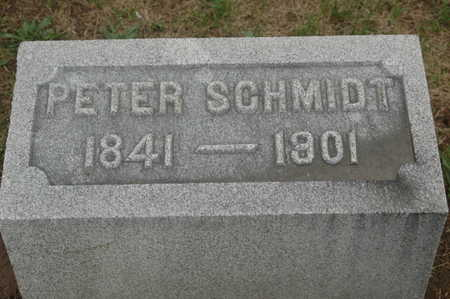 SCHMIDT, PETER - Clinton County, Iowa | PETER SCHMIDT