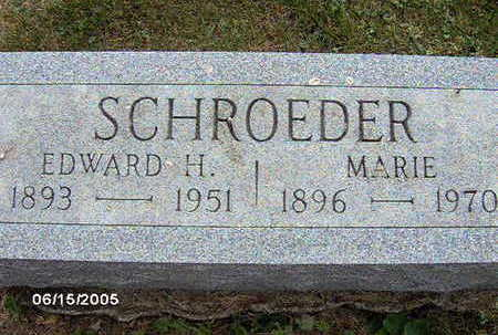 SCHROEDER, EDWARD H - Clinton County, Iowa | EDWARD H SCHROEDER
